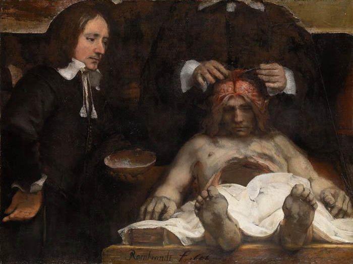 Imagen 6: Rembrandt Harmenszoon van Rijn, Lección de anatomía del doctor Jan Deyman, 1656, Rijksmuseum, Ámsterdam