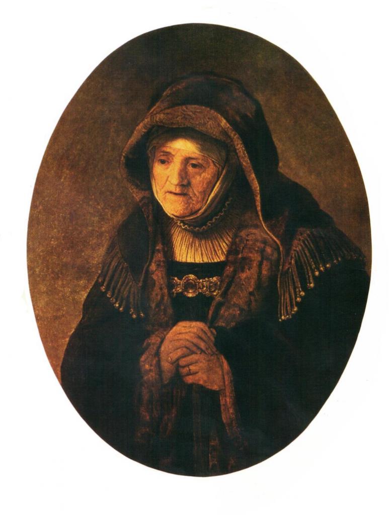 Imagen 11: Rembrandt Harmenszoon van Rijn, La madre del artista, 1639, Kunsthistorisches Museum, Viena