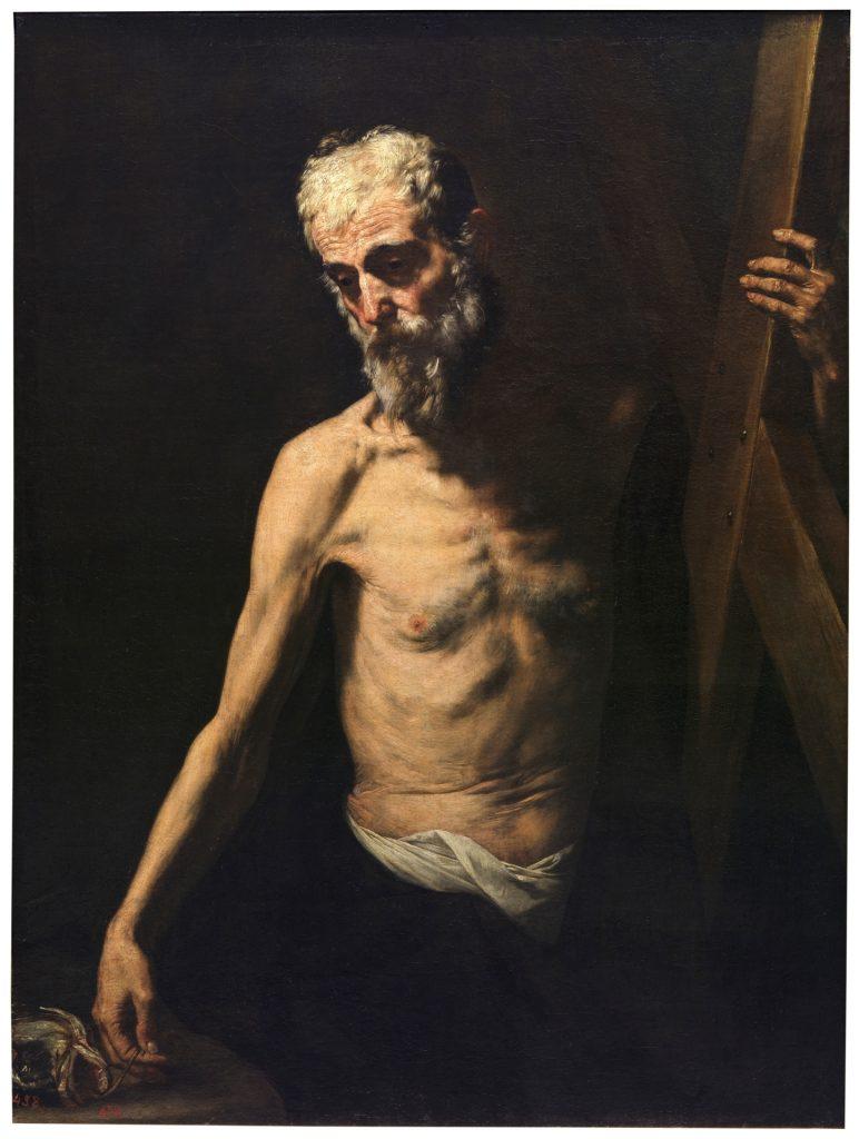 Imagen 10: José de Ribera, Il Spagnoletto, San Andrés, 1630, Museo del Prado, Madrid