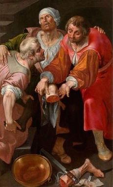 Imagen 3: Ambrosius Francken, Los santos Cosme y Damián, 1590, Koninklijk Museum vor Shone Kunsten, Amberes