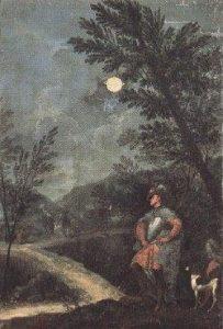 Imagen 16. Donato Creti, Las observaciones astronómicas de Saturno, Pinacoteca Vaticana (1711)